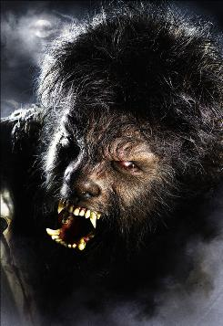 Beast revived: Benicio Del Toro takes on Lon Chaney Jr.'s old role in The Wolfman, out Friday.