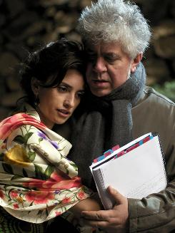 Penolope Cruz and Pedro Almodovar are longtime friends and creative collaborators.