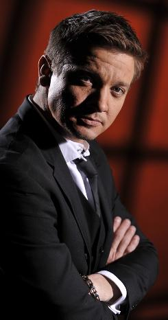Jeremy Renner is up for a best-actor Oscar for his role as a bomb detonator in The Hurt Locker.