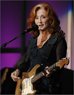 Bonnie Raitt is among the artists selected to be inducted into the Blues Hall of Fame.