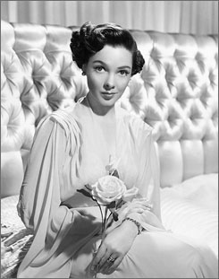 Kathryn Grayson was known for her work in films such as Anchors Aweigh,Show Boat  and Kiss Me Kate.