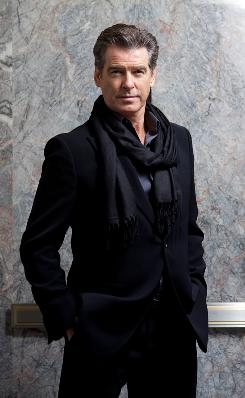 Pierce Brosnan is a busy man. He has four movies hitting theaters within a matter of weeks.
