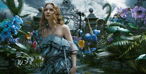 Go ask Alice: In the newest version of Alice in Wonderland, out March 5, Mia Wasikowska's trip down the rabbit hole is a deliberate escape.