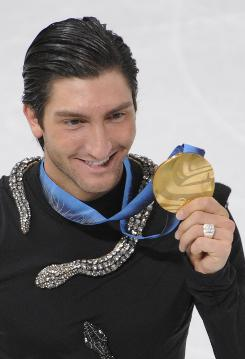 Olympic gold medalist Evan Lysacek is among the big names who'll be dancing on Dancing With the Stars starting on March 22.