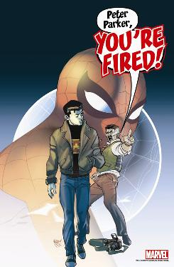 Image from Amazing Spider-Man #623 available this week from Marvel Comics.