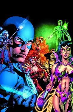 Image from DC Comics' top-selling Blackest Night #7.