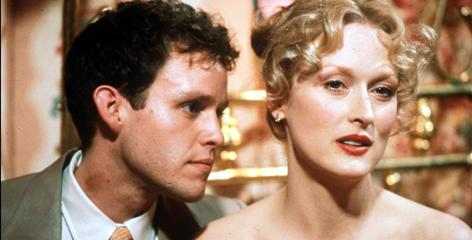 Peter MacNicol and Meryl Streep, who is nominated for a record 16th time this year, in Sophie's Choice.