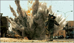 The Hurt Locker won best director and best film.