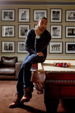 Ludacris, aka Chris Bridges, in New York City at the Def Jam Records offices.