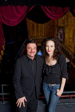 Nathan Lane and Bebe Neuwirth will star as Gomez and Morticia in The Addams Family, a new Broadway musical based more on the macabre cartoons by Charles Addams than on the television series.