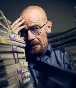 More money, more problems: Bryan Cranston and the AMC drama Breaking Bad return Sunday.