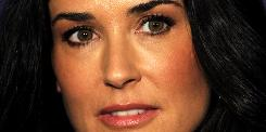 Demi Moore is famous for starring in films such as Ghost and G.I. Jane.
