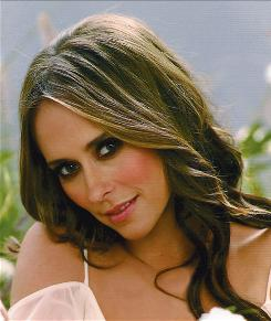 "The love glass is half full: Ghost Whisperer star Jennifer Love Hewitt, who wrote The Day I Shot Cupid, says, ""I know there is somebody great out there for me."""