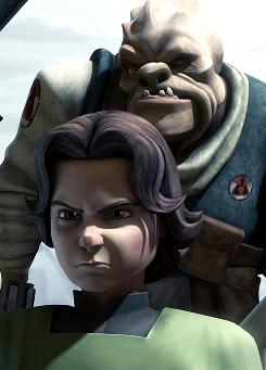 """He had that Clint Eastwood vibe to him"": In The Clone Wars cartoon airing in April on The Cartoon Network, a teenage Boba Fett leads a motley crew of bounty hunters."