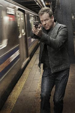 The clock has been ticking for a ticked-off Jack Bauer (Kiefer Sutherland), who has been busy having a very bad day in New York this season.
