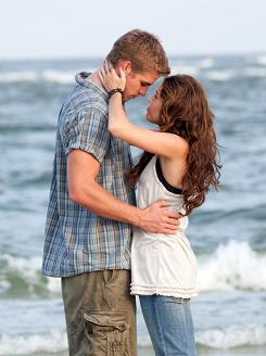 Beach meeting: Ronnie (Miley Cyrus) is sent to her dad's house for the summer and falls for Will (Liam Hemsworth).