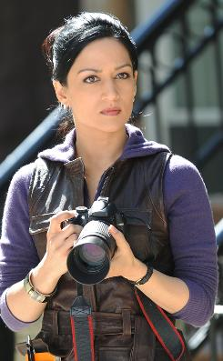 Definitely camera-ready:Archie Panjabi stars as Kalinda, the in-house private investigator for a powerhouse Chicago law firm, on CBS' The Good Wife.