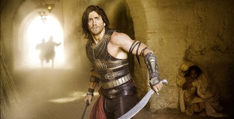 Magic at his fingertips: Jake Gyllenhaal and his supernatural dagger are seeking to stop Ben Kingsley's nobleman in Prince of Persia.