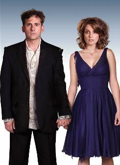 Meet the Fosters: Steve Carell and Tina Fey have a wild adventure in Date Night, which opens Friday.