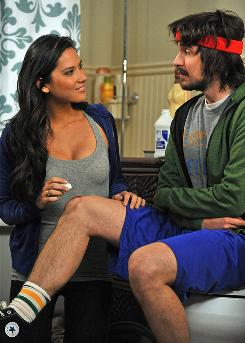 """CBS guest role: Olivia Munn joins Nicolas Wright in Wednesday's Accidentally on Purpose as a baby nurse who shows her """"kinky side"""" after being hired by Jenna Elfman's Billie."""