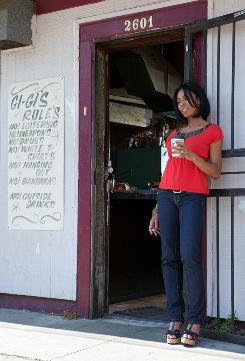 Out in front of Gigi's Place: Khandi Alexander, a veteran of David Simon projects, stars as LaDonna Batiste-Williams, who owns a New Orleans bar and is searching for her brother after Hurricane Katrina.