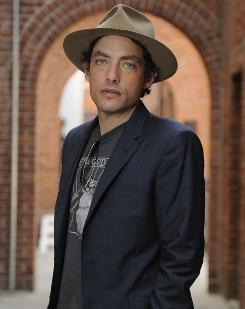 A Wallflower no more: Jakob Dylan has a new solo album, Women & Country, in stores now. Its roots-rocks sound was produced by T Bone Burnett, who worked with Dylan in The Wallflowers.
