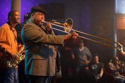 Actor Wendell Pierce, who starred on The Wire, plays a jazz musician in the HBO series Treme.