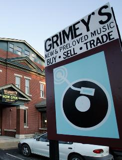 In Nashville: Grimey's is well-known  for its in-store performances.