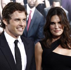 Visionary idea: James Marsden says wife Lisa Linde suggested he try hallucinogenic mushrooms to prepare for the role.