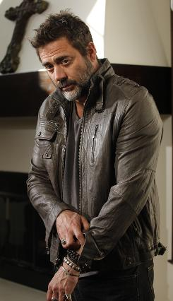 &quot;Following the good material&quot;: Versatile star Jeffrey Dean Morgan, who played dead Denny on Grey's Anatomy, stars as a CIA team leader in The Losers, out Friday.
