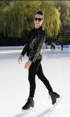Olympic figure skater Johnny Weir plans to release his book early next year.