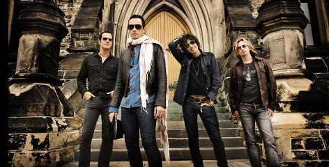 Stone Temple Pilots: Robert DeLeo, left, Scott Weiland, Dean DeLeo and Eric Kretz.