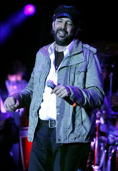 """Imagine that!"" Juan Luis Guerra is excited to be ""on the same stage as B.B. King."""