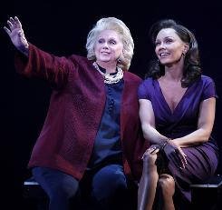 Sing it: Barbara Cook, left, and Vanessa Williams are part of the all-star cast of Sondheim on Sondheim, now playing on Broadway.