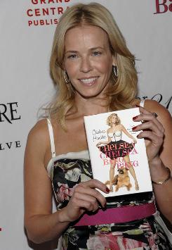 Funny lady: Chelsea Handler has a new book, Chelsea Chelsea Bang Bang.