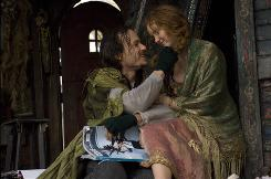 The late Heath Ledger and Lily Cole star in the film by Terry Gilliam.