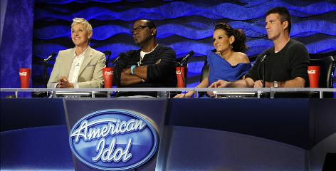 Judging by these looks, it can be tough for contestants to decipher the comments from Ellen DeGeneres, Randy Jackson, Kara DioGuardi and Simon Cowell.