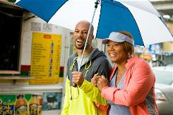 Common and Queen Latifah star in Just Wright, a romantic comedy with hoops that opens Friday.