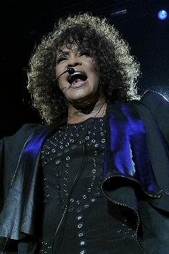 Will fans always love you? Whitney Houston, photographed performing in Milan on May 3, has disappointed fans on her Nothing But Love tour.