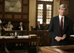 Sam Waterston stars as district attorney Jack McCoy  in Law and Order.