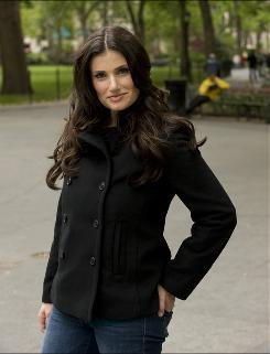 Broadway veteran Idina Menzel (Rent, Wicked) has a recurring role on Glee.