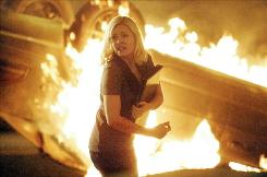 Elisha Cuthbert played hero Jack Bauer's daughter, Kim, 24's damsel in almost-constant distress.