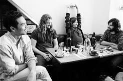 The Temper Trap: Dougy Mandagi, left, Jonathon Aherne, Lorenzo Sillitto and Toby Dundas.