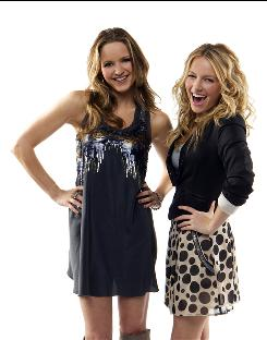 Jordana Spiro, left, and Becki Newton star as Frannie and Annie on NBC's new hour-long comedy anthology series, Love Bites.