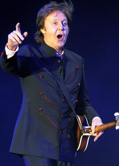 Paul McCartney will receive the Gershwin Prize for Popular Song from the Library of Congress.