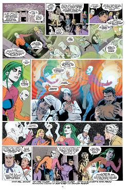 Page 5 from 'Metamorpho' story by Gaiman/Allred that ran in 2009 'Wednesday Comics' series from DC Comics.
