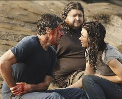 A great end to a great series: Matthew Fox, left, Jorge Garcia, Evangeline Lilly and the other island dwellers answered most major questions on Lost.