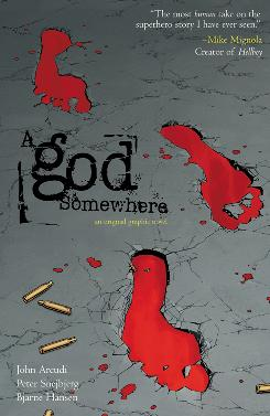 Cover image to 'A God Somewhere' by Wildstorm Productions
