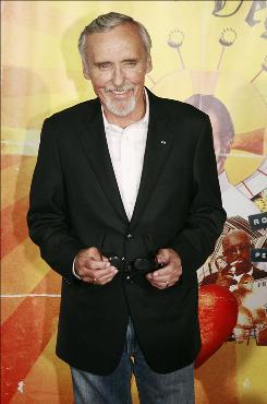 Dennis Hopper was memorialized in Taos, N.M. Wednesday.