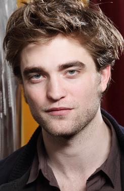 Robert Pattinson is the top-rated actor. The Twilight star is working on the film Water for Elephants.